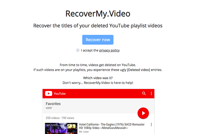 How to Recover Deleted YouTube Videos In Under 1 Minute (2019)