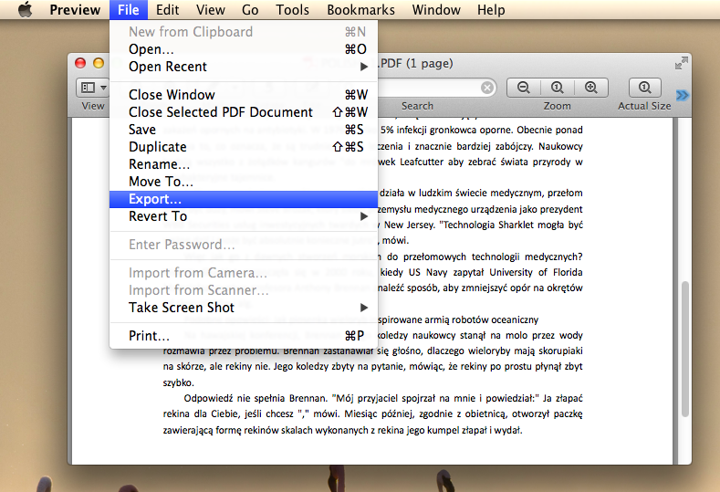 how to resize a pdf on mac for free