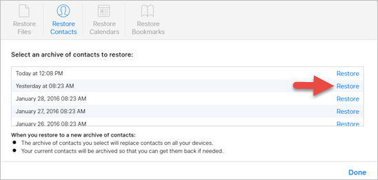 How to Restore Contacts on iPhone (iPhone 8 and X Included)