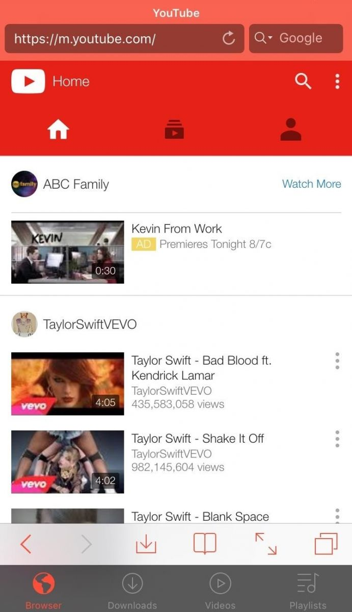 upload video to youtube from iphone app
