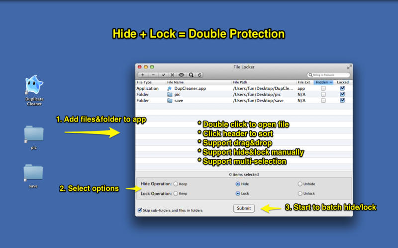 How to Password Protect a file on Mac Using File Locker