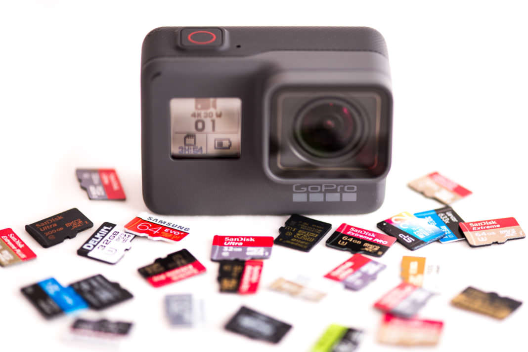 sd card for gopro