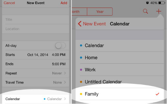 How to Share Calendar Events with Others on Your iPhone