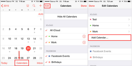 how to share calendars on iphone how to calendar events with others on your iphone 3034