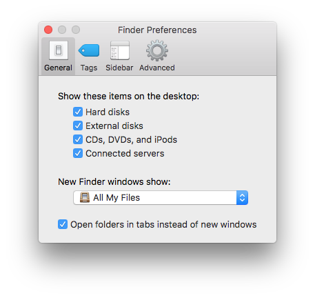show up on mac