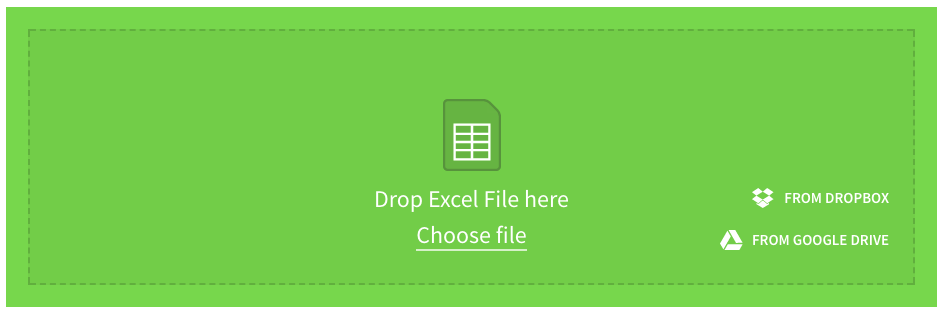 small pdf add excel files