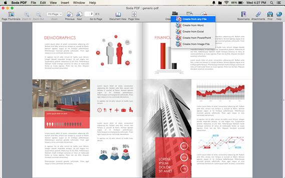 use soda pdf reader to save file as PDF on mac