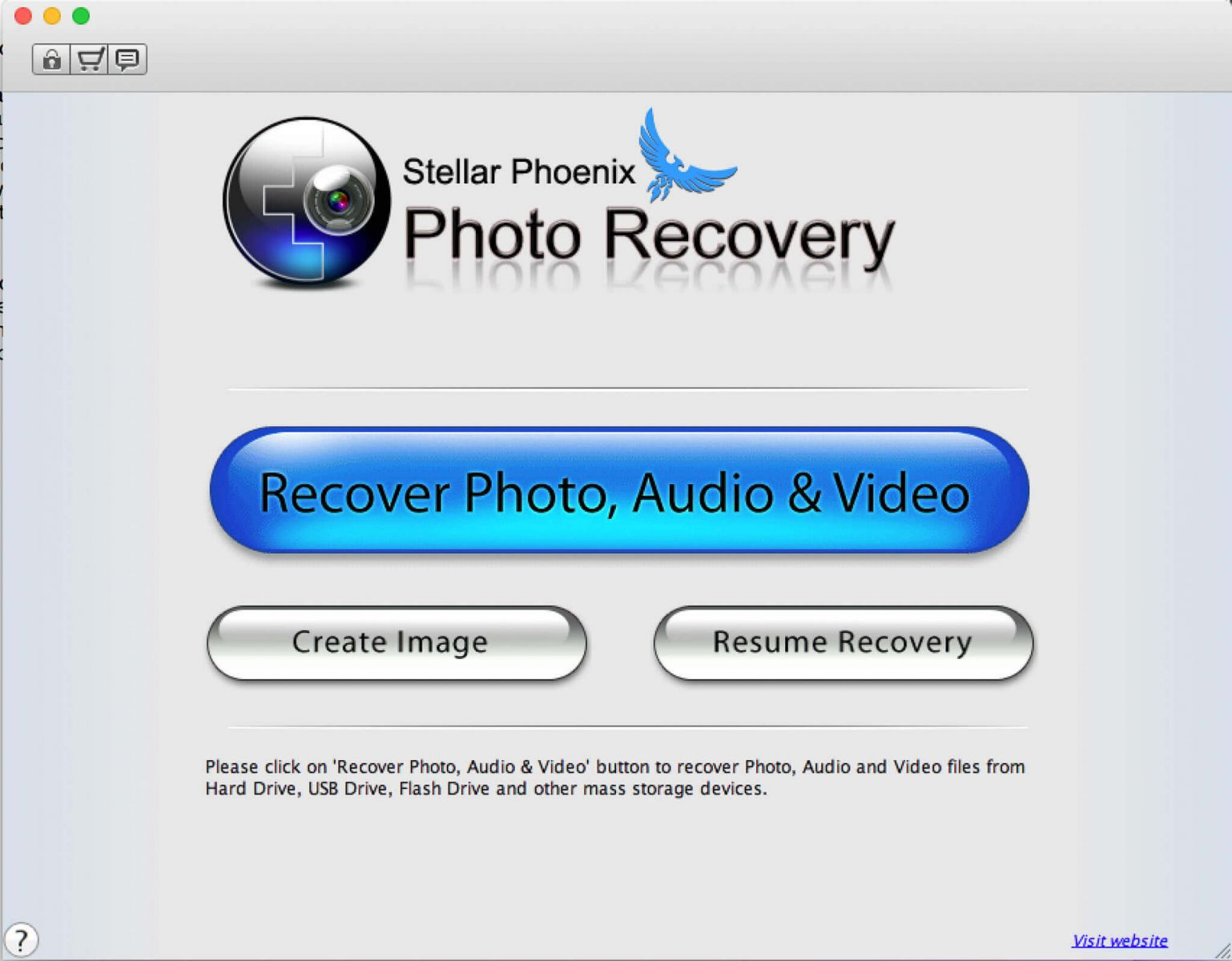 Stellar Phoenix Photo Recovery interface
