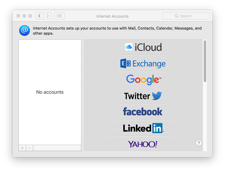 Sync Google Contacts on Mac Step 2