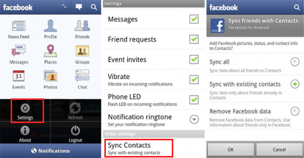 how to sync facebook contacts to iphone how to sync contacts to iphone android and mac 20341