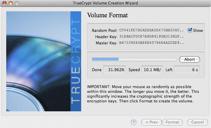 TrueCrypt for Mac