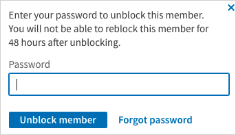 How to Unblock Someone on LinkedIn Step 3