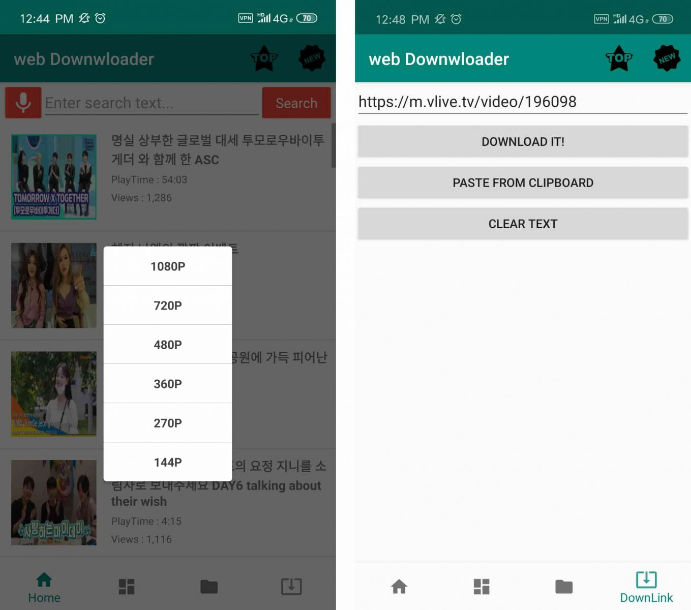 vlive downloader for android 01