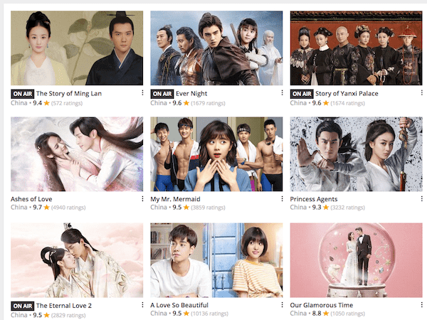 Top 20 Chinese Drama 2018 and Where to Watch with English Sub
