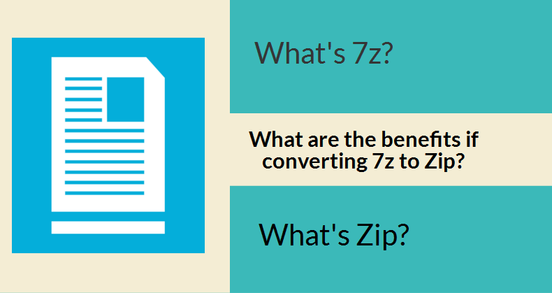 How to Convert 7Z to Zip on Mac Using Online and Desktop