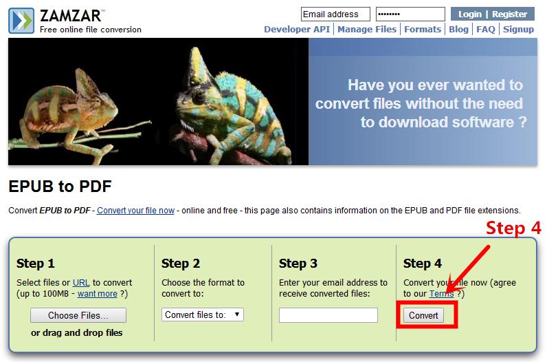 convert epub to pdf free 04