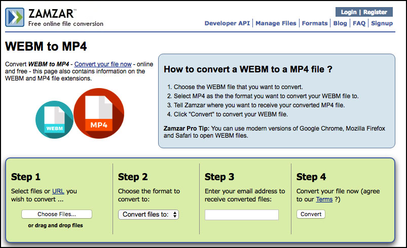 WebM to MP4 Converter: Three Recommended Ways to Convert