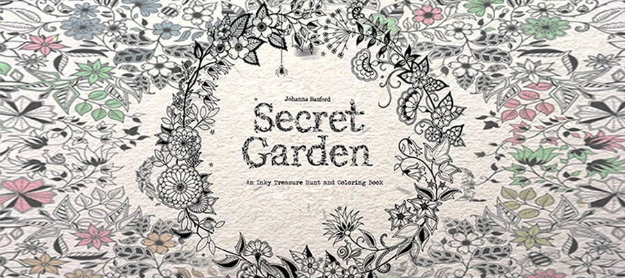 Free and Printable Secret Garden Coloring Book in PDF | Cisdem